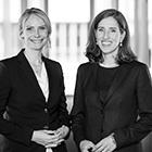 Christiane Mühe und Sabine Funke