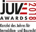JuveAwards2018 Logo Immobilien- und Baurecht