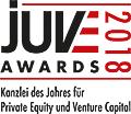 JuveAwards2018 Logo Private Equity und Venture Capital