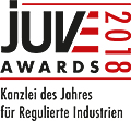 JuveAwards2018 Logo Regulierte Industrien
