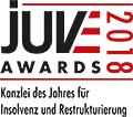 JuveAwards2018 Logo Insolvenz und Restrukturierung