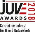 JuveAwards2018 Logo IT und Datenschutz