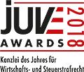 JuveAwards2018 Logo Wirtschafts- und Steuerstrafrecht