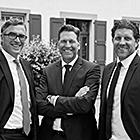 Henning Hülbach, Alexander und Dominik Boisserée