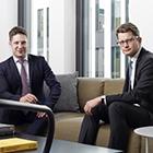Richard Jansen (li.) und Fabian Kreis