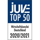 JUVE Top 50 Wirtschaftskanzlei Deutschland 2020/2021