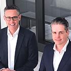 Matthias Johnen (links), Dirk Wegener