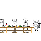 Jede Menge Köche