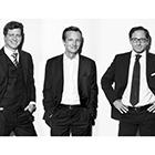 Martin Aringer, Roland Herbst, Stephan Winklbauer (v.l.)