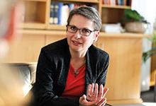 """Bettina Limperg: """"BGH-Richter zu werden, ist die Krönung einer juristischen Laufbahn.Viel weiter geht es nicht."""""""