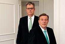 Selbstständig seit 15 Jahren: Walther Graf und Hanns W. Feigen