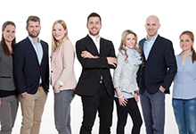 Das SLC-Team: Anna Schiedlowsky, Alexander Zatorski, Imke Koopmann, Hendrik Rüdebusch, Amanda Gerlatzek, Moritz Böhm, Rebecca Nübel