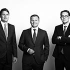Jan-Henning Wyen, Alexander Ego und Henrik Humrich
