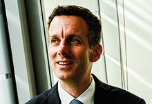 Netzwerker mit System: Luther-Partner Christoph Schauenburg.