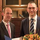 Thorsten Müller (links) und Marcus Schmidtchen bei der Preisverleihung