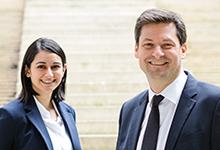 Due Diligence ist Teil ihres Geschäfts: Sarah Fani Yazdi und Lars Störring von Classen Fuhrmanns.