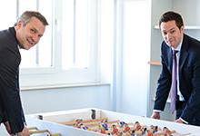 Flexibilität im Transaktionsgeschäft: Jochen Markgraf und Jan Hermes von Glade Michel Wirtz.