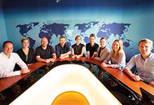 Meetingräume mit Motto: Hier fühlen sich die Google-Juristen wie Nachrichtensprecher.