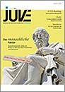 Cover für JUVE Magazin HeftMai/Juni 2020
