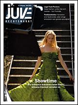 Cover für JUVE Rechtsmarkt Heft 04/2021