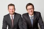 Robert Theissen und Christof Kleinmann