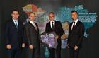 Richard Wolf, Erik Steger, Siegfried Seewald, Peter Daszkowski (von links)