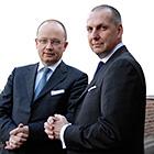 Reiner Wilke und Harald Selzner
